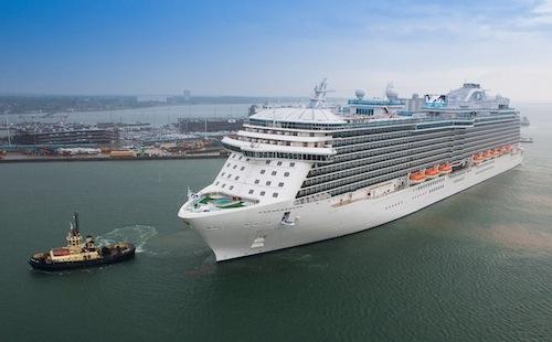 Image courtesy of Princess Cruises