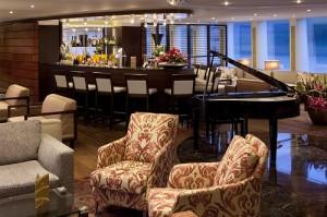 The Bar at the Main Lounge AmaCerto - Image courtesy of Ama Waterways
