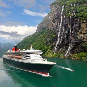 Cunards QM2. Image courtesy of Cunard.