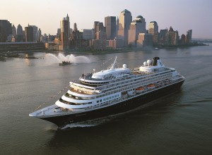 ms Prisendam in New York.  Image courtesy of Holland America