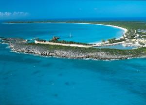 Half Moon Cay Aerial