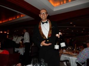 Crystal Serenity World Cruise Wine Sommalier Enrico Olivieri