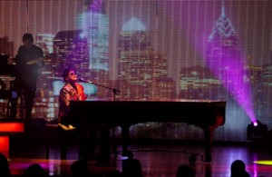 Great entertainment!  Photo courtesy of Crystal Cruises