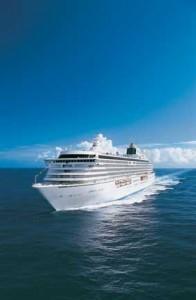 Crystal Serenity at sea (Photo courtesy of Crystal Cruises)