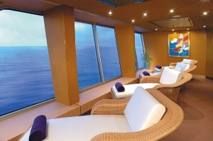 Spa image courtesy of Holland America