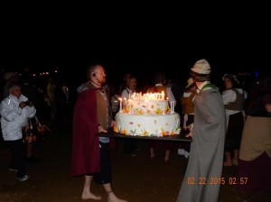 Hobbiton cake