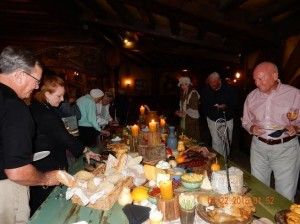 Hobbiton feast