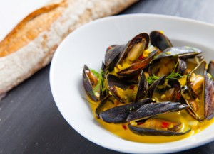 Viking recipe DUBROVNIK OYSTERS & MUSSELS