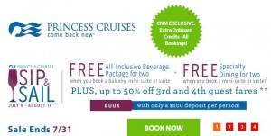 CNM website specials Princess July 18 2015