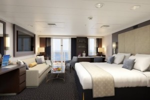 The upgraded Signature Suite. Image courtesy of Holland America line