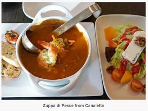 Zuppa di Pesce frm Canaletto
