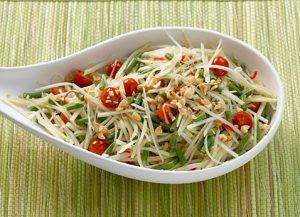 Green Papaya Salad image courtesy of Viking River Cruises