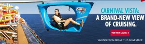 Carnival SkyRide, Courtesy of Carnival Cruise Line