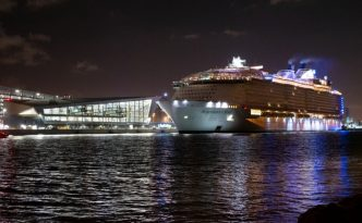 Royal Caribbean International's highly-anticipated Symphony of the Seas arrives into her new home at the state-of-the-art Terminal A in Miami. The ultimate family vacation, Symphony is set to deliver a new sound of adventure with one-of-a-kind experiences for all ages on 7-night Eastern and Western Caribbean cruises.