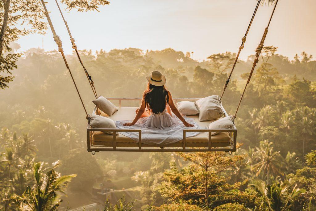 Beautiful World on Swing