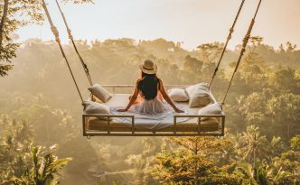 Beautiful World on Swing